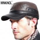 MNKNCL высокое качество осень зима для мужчин кожа бейсбол кепки повседневное Moto Snapback модные теплые шапки купить на AliExpress