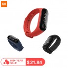 US $22.42 22% OFF|IN STOCK New Original Xiaomi Mi Band 3 Band3 Smart Bracelet Black 0.78 inch OLED miband 3 Instant Message Call Weather Forecate-in Smart Wristbands from Consumer Electronics on Aliexpress.com | Alibaba Group