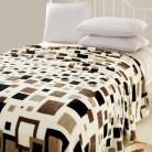 646.75 руб. 5% СКИДКА|Супер теплый! Зимнее коричневое плед одеяло 100% коралловый флис ткань одеяло Теплый плюш купить на AliExpress