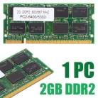 1 шт. ноутбук память 2 Гб DDR2 PC2 6400/5300 800/667 МГц ноутбук RAM 200pin неecc память для Dell HP Acer ASUS