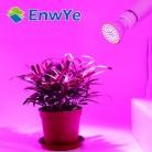 Светодио дный лампада компактные флуоресцентные лампы для выращивания растений E27 E14 MR16 GU10 110 V 220 V Полный спектр комнатное растение лампы для растений Vegs гидропоники Системы завод купить на AliExpress
