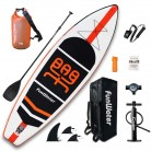 "FunWater Inflatable Stand Up Paddle Boards 11'×33""×6"" Ultra-Light (17.6lbs) SUP for All Skill Levels Includes all accessories"