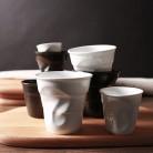 642.28руб. 10% СКИДКА|Высококачественные керамические короткие фарфоровые чашки для кофе, черный матовый белый европейский стиль, чашка для завтрака, молока, чая, оригами, чашки, посуда для напитков-in Кружки from Дом и животные on AliExpress - 11.11_Double 11_Singles' Day