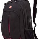 Рюкзак Wenger Fusion черный/розовый 3165208408 35x5x46см 22л. 0.716кг.