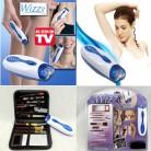 Wizzit удаления волос набор Высокое качество Электрический эпилятор + макияж инструменты + сумка для хранения леди костюм ТВ в наличии купить на AliExpress