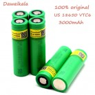 Original VTC6 3.7V 3000mAh rechargeable Li ion battery 18650 US18650VTC6 30A Electronic cigarette toys tools flashligh-in Replacement Batteries from Consumer Electronics on Aliexpress.com   Alibaba Group