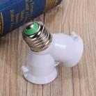 47.34 руб. 16% СКИДКА|2 в 1 Y Форма E27 гнездо держателя лампы сплиттер адаптер лампочки держатель стойка огнеупорные Материал Конвертор гнездо-in Основания лампы from Лампы и освещение on Aliexpress.com | Alibaba Group