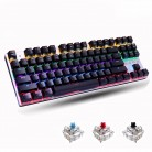 Metoo  Edition Mechanical Keyboard 87 keys Blue Switch Gaming Keyboards for Tablet Desktop  Russian sticker-in Keyboards from Computer & Office on Aliexpress.com | Alibaba Group
