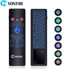US $13.22 30% OFF|VONTAR T6 Plus Backlit 2.4GHz Air mouse mini Wireless Keyboard & touchpad Remote Control for Android TV Box mini PC Projector-in Keyboards from Computer & Office on Aliexpress.com | Alibaba Group