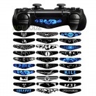 Trap Skull 30 Pcs Light Bar Cover Sticker Skin For PS4 Slim Pro Controller