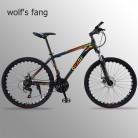 60518.02 руб. 52% СКИДКА|Wolf's fang горный велосипед 21 скоростной велосипед 26 фэт байки дорожный велосипед из алюминиевого сплава резиновый мужской велосипед бесплатная доставка-in Велосипед from Спорт и развлечения on Aliexpress.com | Alibaba Group