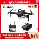 Eachine E520S E520 gps FOLLOW ME wifi FPV Квадрокоптер с 4K/1080P HD широкоугольная камера Складная Высота удержания прочный Радиоуправляемый Дрон