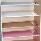 290.34 руб. 41% СКИДКА|Регулируемый шкаф, органайзер для хранения полка настенная кухонная стойка шкаф для экономии пространства декоративные полки для шкафа Держатели купить на AliExpress