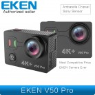 3001.84 руб. 8% СКИДКА|Новейшая модель; eken V50 Pro Экшн камера Ambarella Чипсет sony Сенсор 4 K 30FPS мотоцикл Камера Wi Fi Водонепроницаемый мини спортивные Камера-in Спортивная и экшн-видеокамера from Бытовая электроника on Aliexpress.com | Alibaba Group