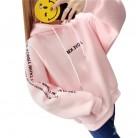 755.34 руб. 15% СКИДКА|Harajuku женские розовые толстовки уличная Флисовая теплая надпись свитшот с капюшоном с принтом топы женские негабаритные Свободный пуловер, толстовка-in Толстовки и кофты from Женская одежда on Aliexpress.com | Alibaba Group
