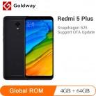 9131.05 руб. |Оригинальный мобильный телефон Xiaomi Redmi 5 Plus, 4 Гб ОЗУ, 64 Гб ПЗУ, Восьмиядерный процессор Snapdragon 625 5,99