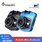US $19.45 27% OFF|2019 New Original Podofo A1 Mini Car DVR Camera Dashcam Full HD 1080P Video Registrator Recorder G sensor Night Vision Dash Cam-in DVR/Dash Camera from Automobiles & Motorcycles on Aliexpress.com | Alibaba Group