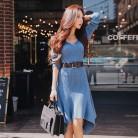 1486.89 руб. 9% СКИДКА|Dabuwawa Для женщин женские зимниеv образным вырезом трикотажное платье midi футболка с длинным рукавом и асимметричным подолом, элегантное платье русалки D18DDR018-in Платья from Женская одежда on Aliexpress.com | Alibaba Group