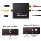 429.77 руб. 27% СКИДКА|3,5 мм Jack 2 RCA цифровой аналоговый аудио усилитель конвертера декодер оптический волоконный коаксиальный сигнал в аналоговый стерео аудио адаптер on Aliexpress.com | Alibaba Group