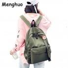 1962.43 руб. |Menghuo значок женский рюкзак ленты школьные сумки для подростков девочек модные сумки Классический университет студенческие рюкзаки Mochilas-in Рюкзаки from Багаж и сумки on Aliexpress.com | Alibaba Group