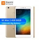 10858.04 руб. |Глобальный Встроенная память Xiaomi mi Max 2 Max2 4 Гб Оперативная память 64 GB мобильный телефон Snapdragon 625 Octa Core 6,44