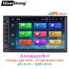 US $156.82 40% OFF|SilverStrong IPS Android9.0 4G Car DVD 2din Universal Car GPS Radio Magnito Tape Recorder Navigation option DSP 8.1+16G 707-in Car Multimedia Player from Automobiles & Motorcycles on Aliexpress.com | Alibaba Group