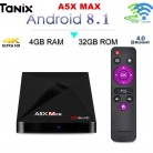 US $24.69 |A5X MAX Android 8.1 TV Box RK3328 4GB RAM + 32GB ROM 2.4G WIFI BT4.0 Support HDR 4K Smart Media Player Set Top Box-in Set-top Boxes from Consumer Electronics on Aliexpress.com | Alibaba Group