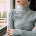 496.36 руб. 37% СКИДКА|INS 2019 Осенняя Новая модная женская водолазка мягкий тонкий свитер femme корейский тянущийся плотный Повседневный вязаный в рубчик джемпер одежда-in Пуловеры from Женская одежда on Aliexpress.com | Alibaba Group