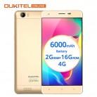 6507.69 руб. |6000 мАч Батарея Oukitel K6000 5,5 дюймов 4G мобильный телефон стандарта LTE на ОС Android 6,0 MTK6735P 1280x720 2G RAM 16G ROM gps OTG 8MP смартфон купить на AliExpress