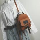 1190.62руб. 5% СКИДКА|Новинка 2018, Модный женский рюкзак, высокое качество, из искусственной кожи, женская сумка через плечо, контрастный простой маленький рюкзак для путешествий, школьные сумки-in Рюкзаки from Багаж и сумки on AliExpress - 11.11_Double 11_Singles' Day