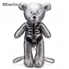 US $24.21 51% OFF|DIINOVIVO Fashion Skeleton Bear Female Backpack Punk Style School Bags Designer Backpacks for Adolescent Girls Gifts WHDV0324-in Backpacks from Luggage & Bags on Aliexpress.com | Alibaba Group