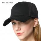 439.74 руб. 49% СКИДКА|Высокое качество Черный Бейсбол Кепки с сеткой бренд Snapback Hat Trucker Кепки Чистый цвет Бейсбол Кепки S Для мужчин Для женщин для мальчиков и девочек Лето купить на AliExpress
