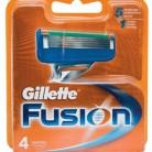 Купить Сменные кассеты Gillette Fusion5 , 4 шт. по низкой цене с доставкой из маркетплейса Беру