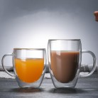 182.65 руб. 24% СКИДКА|Термостойкие двойные стеклянные кофейные/чайные чашки и кружки для путешествий двойные кофейные кружки с ручкой чашки для напитков Shot glass es-in Кружки from Дом и животные on Aliexpress.com | Alibaba Group