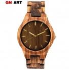 1168.55 руб. 58% СКИДКА|GNART деревянные часы мужской clok для мужчин relogio masculino деревянные часы Роскошные для мужчин бренд для мужчин сувенир relogio Часы montre купить на AliExpress
