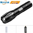 ZK60 Portable LED Flashlight LED Torch Zoomable Flashlight 8000LM E17 T6 5 Mode Light For 18650 or 3xAAA NO Battery NO Charger-in LED Flashlights from Lights & Lighting on Aliexpress.com | Alibaba Group