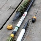 JOSBY Stream удочки 2,7 ~ 7,2 м из углеродного волокна телескопическая удочка для удочки для ловли карпа Tenkara, olta, 1pclot