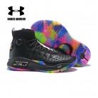 5664.97 руб. |Under Armour Баскетбольная обувь Мужские Карри 4 носок кроссовки нескользящие спортивные ботинки высокие спортивные туфли Zapatillas hombre US 7 12 купить на AliExpress