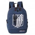 Атака на Титанов Shingeki no Kyojin одна деталь Наруто рюкзак большая сумка рюкзак холст рюкзаки Mochila Daypacks купить на AliExpress