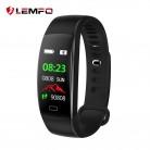 US $13.62 20% OFF|LEMFO Smart Fitness Armband Mannen Kleur Screen Smart Band Bloeddruk Hartslagmeter Polsband voor Android IOS-in Slimme polsbandjes van Consumentenelektronica op Aliexpress.com | Alibaba Groep