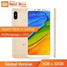 € 150.24 |Versión Global Xiaomi Redmi Note 5 3 GB 32 GB Snapdragon 636 Octa Core 5,99 Pantalla Completa 12MP 5MP Dual AI Cámara 4000 mAh cuerpo de Metal-in Los teléfonos móviles from Teléfonos celulares y telecomunicaciones on Aliexpress.com | Alibaba Group
