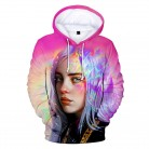 NEW Billie Eilish hoodie men/woen Popular Billie Eilish  sweatshirt 3D Hoodies boy girl 3D Hooded streetwear hoody clothes