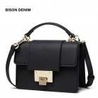 US $29.93 59% OFF|BISON DENIM Genuine Leather Women Bag New luxury handbags Women Bags designer Ladies Fashion Shoulder Bag crossbody bags B1548-in Top-Handle Bags from Luggage & Bags on Aliexpress.com | Alibaba Group