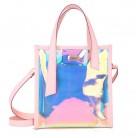 € 9.38 22% de DESCUENTO|Bolsa de mensajero láser holográfica bolso transparente con holograma de arco iris para mujer-in Bolsos de hombro from Maletas y bolsas on Aliexpress.com | Alibaba Group