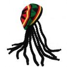 Шапка в стиле хип-хоп, вязаная, парик, коса, шапка, мужская, ямайская, Боб Марли, раста, шапочка, зимняя, Gorra Hombre, дреды, регги, Czapka, Zimowa