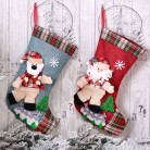 US $0.48 30% OFF|New Year Christmas Stocking Sack Xmas Gift Candy Bag Noel Christmas Decorations for Home Natal Navidad Sock Christmas Tree Decor on AliExpress - 11.11_Double 11_Singles' Day