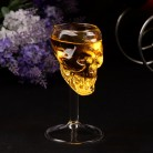 Transparent Beer Wine Cup Bottle Glass Skull Cup Red Wine Sober Glasses Whiskey Cup Party Bar Drinkware 2019 new-in Beer Steins from Home & Garden on AliExpress