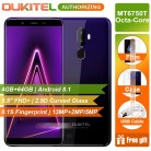 7823.32 руб. 8% СКИДКА|Oukitel U25 Pro 5,5 смартфон FHD Экран MT6750T Восьмиядерный 4 ГБ 64 ГБ Android 8,1 13MP + 2MP отпечаток пальца камеры 3200 мАч телефон купить на AliExpress