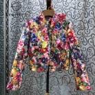 3077.99руб. 36% СКИДКА|SEQINYY, роскошная куртка, весна осень 2020, новый модный дизайн, бисер, блестки, кристалл, красочные цветы, принт, жаккардовый Топ для женщин-in Базовые куртки from Женская одежда on AliExpress