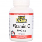 Natural Factors, Vitamin C, Time Release, 1,000 mg, 180 Tablets